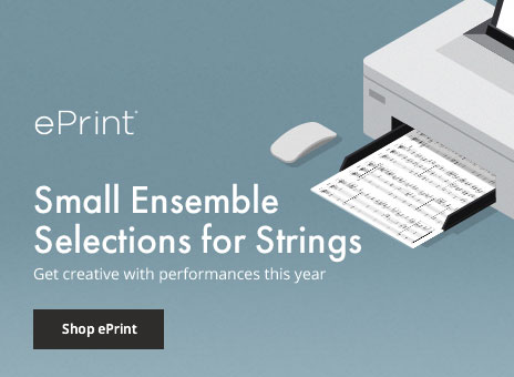 Shop small ensemble digital sheet music for strings.