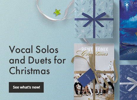 Shop new vocal solos and duets for Christmas.