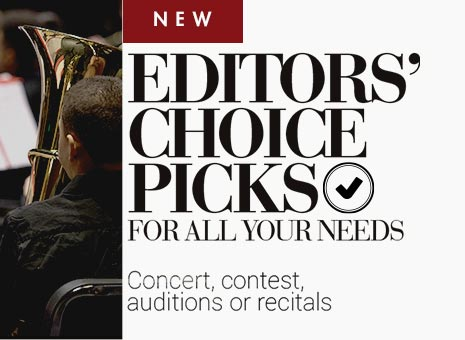 Shop new Editors' Choice Concert and Contest Picks.