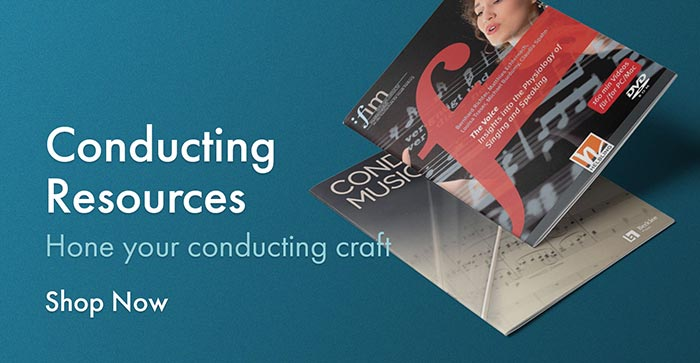 Browse conducting resources to hone your conducting craft.
