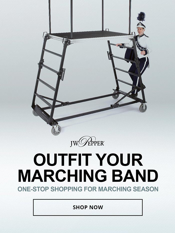 Outfit your band with one-stop shopping for marching season.
