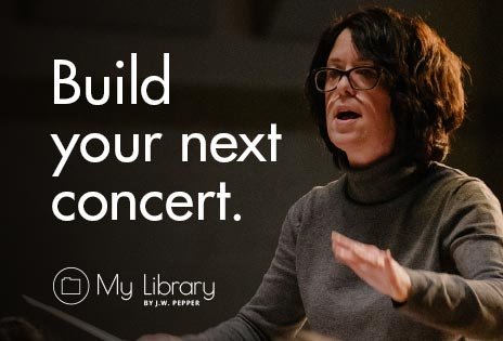 My Library - build your next concert.