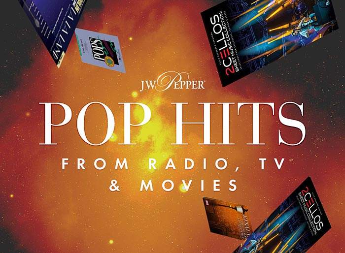 Shop pop hits for strings from radio, TV and movies!