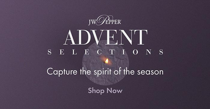 Shop Advent anthems and capture the spirit of the season.