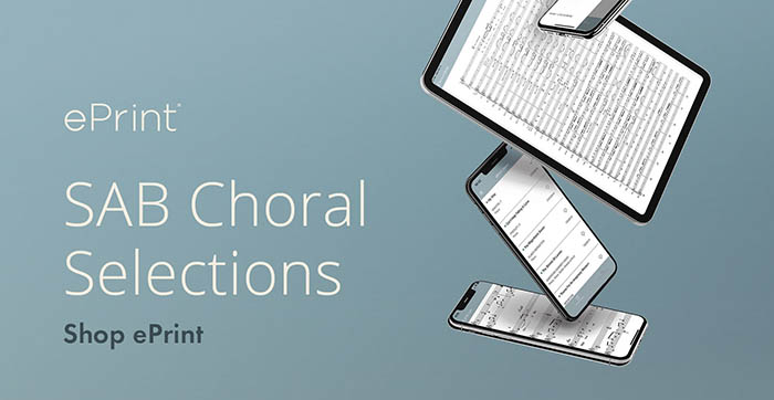 Shop ePrint digital sheet music selections for small ensemble worship.
