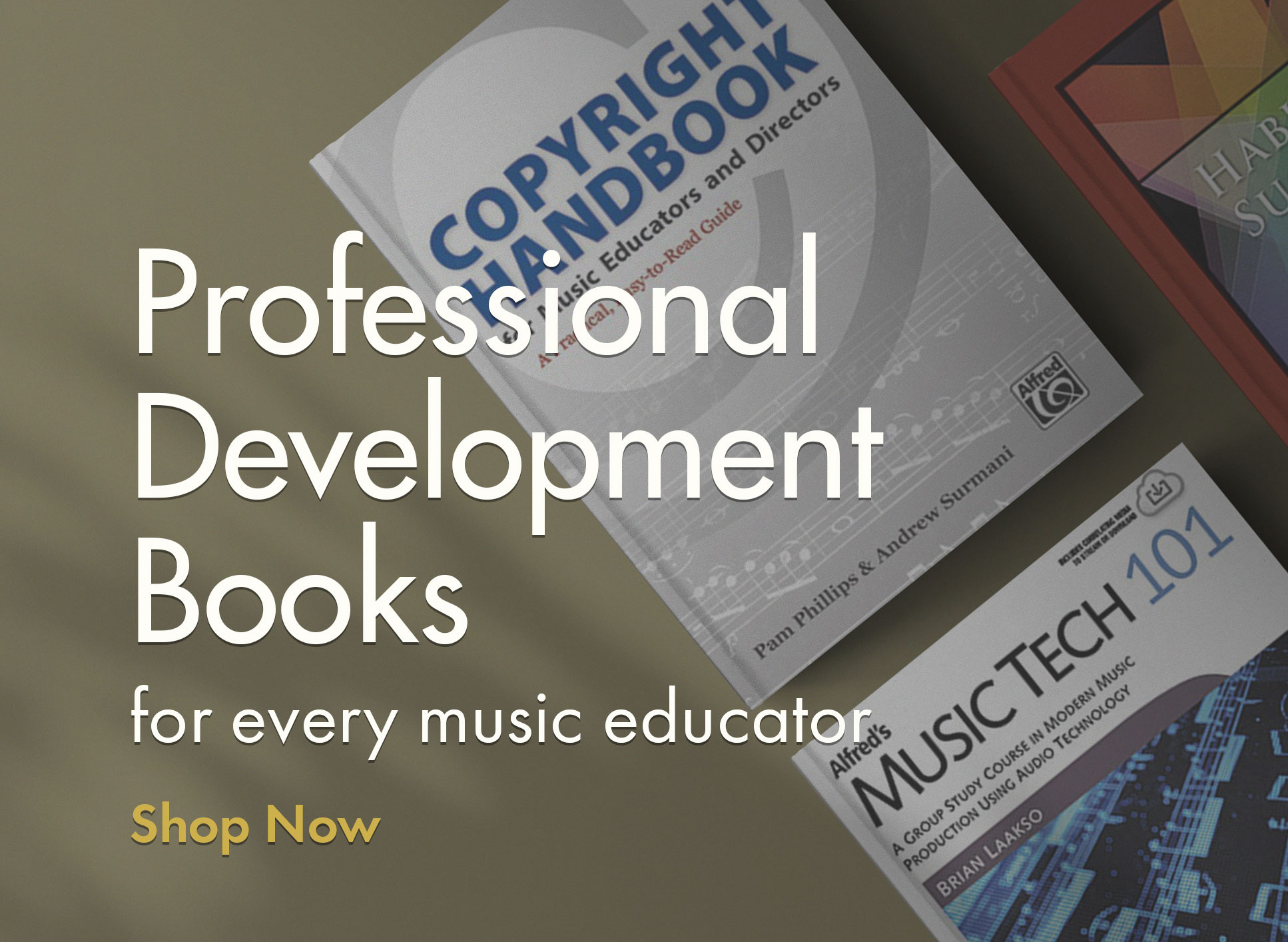 Shop professional development books for the music educator.