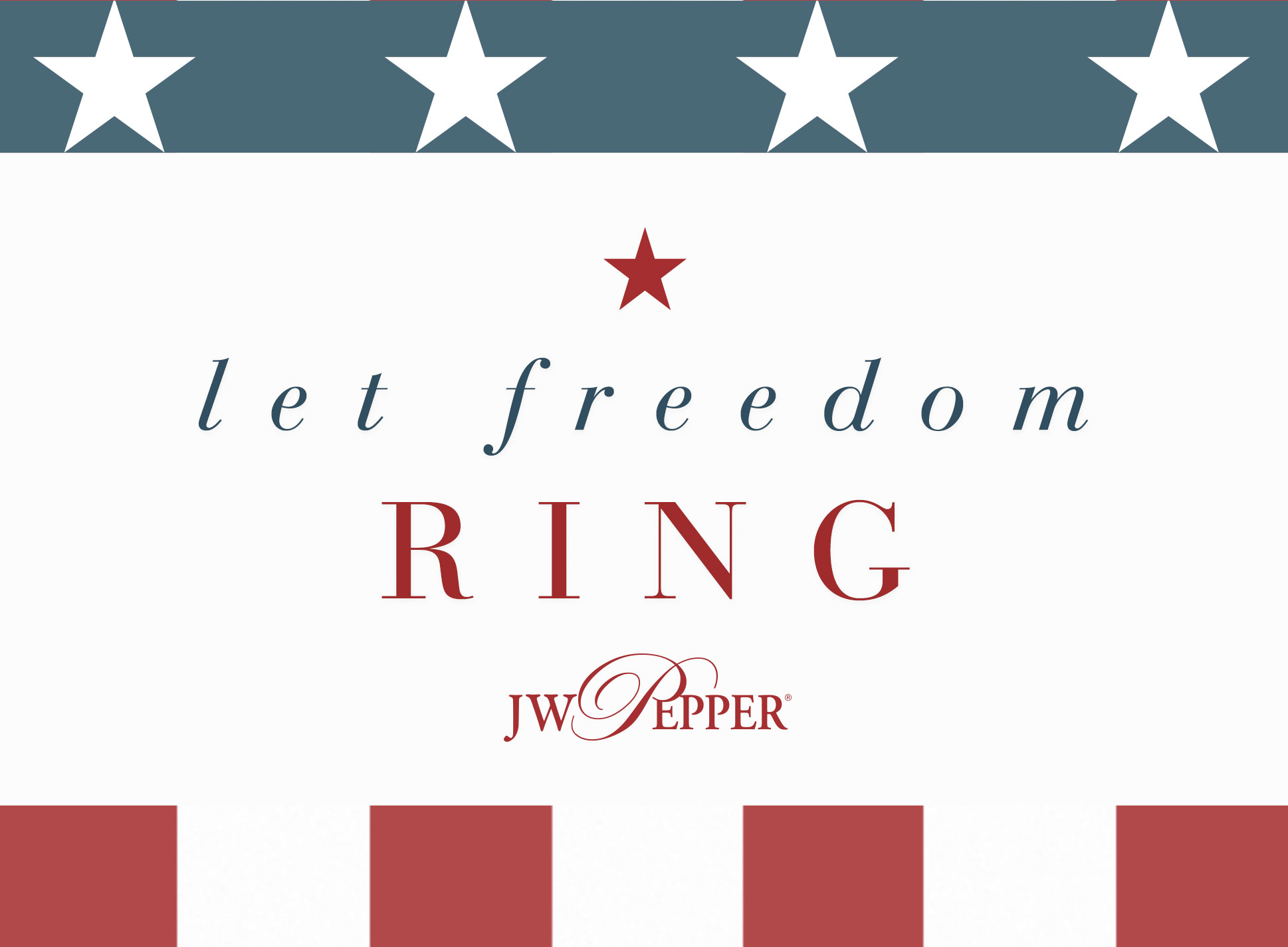 Let freedom ring! Shop all patriotic sheet music.