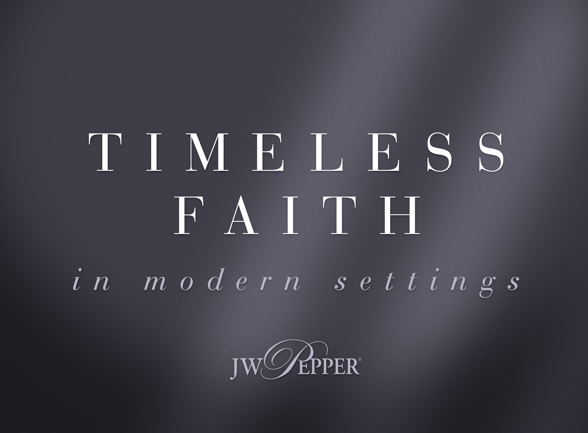 Timeless faith in modern settings. Explore hymn arrangements for church choir.