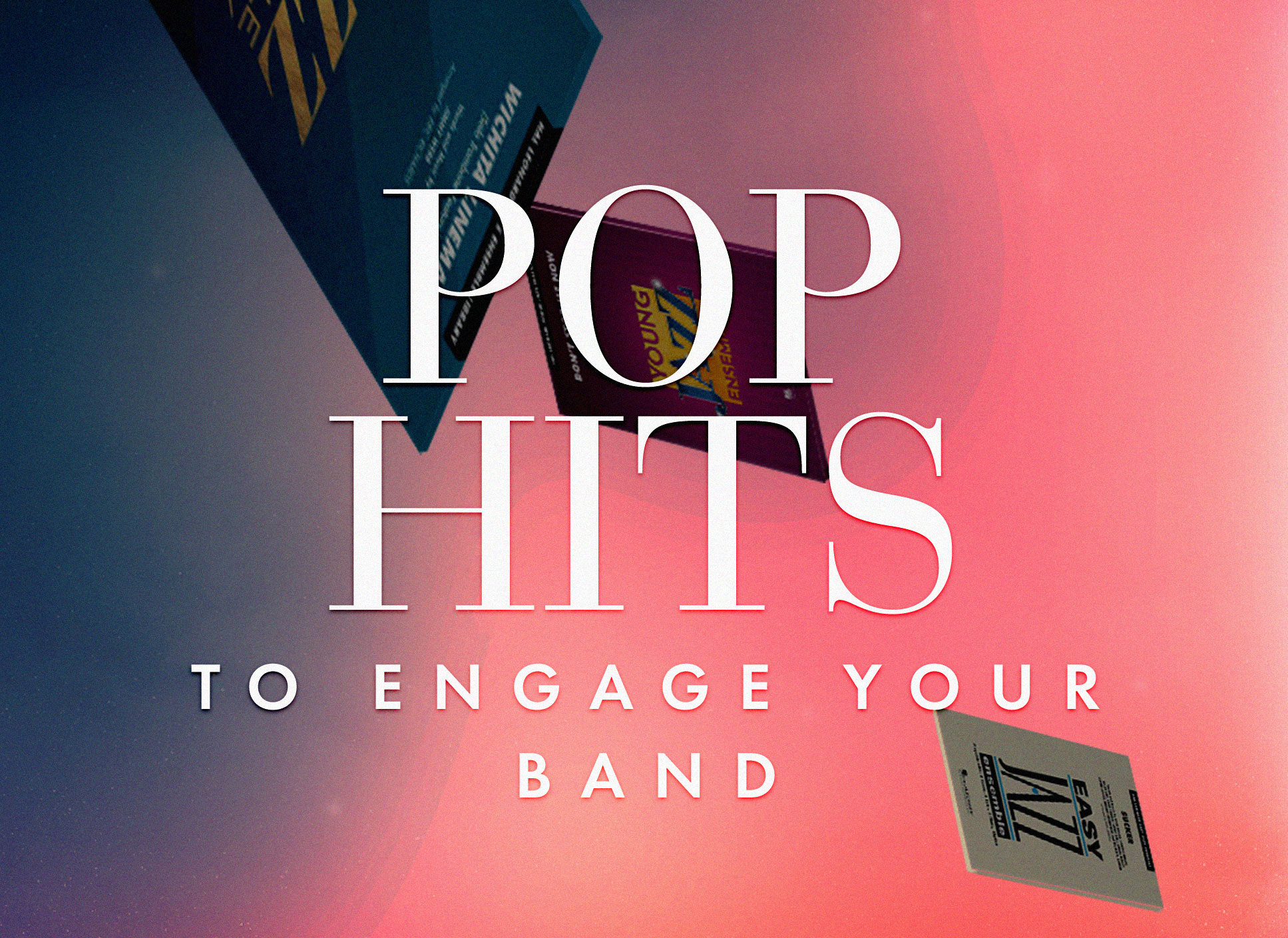 Shop pop hits to engage your jazz band.