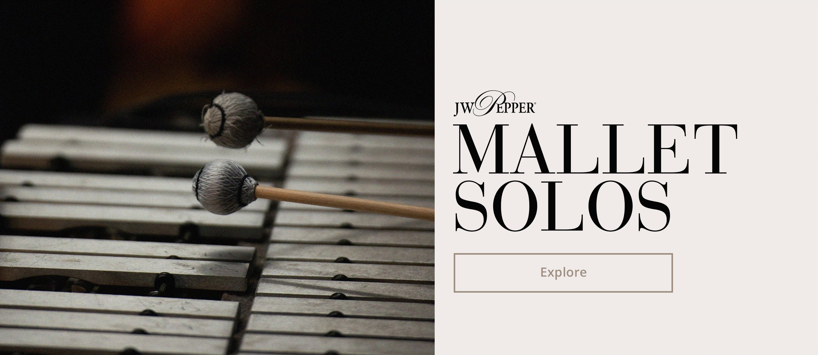 Shop mallet solo music.