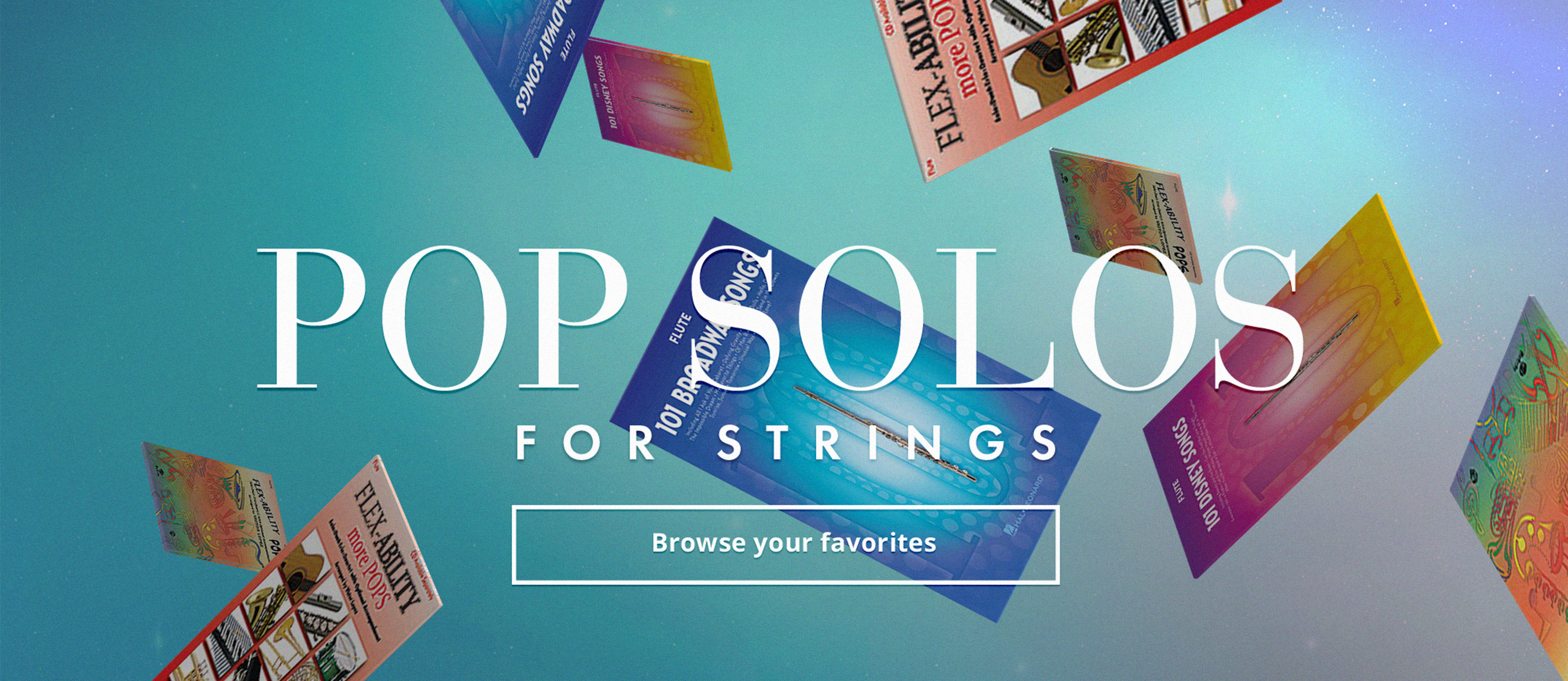 Shop pop solo music for strings.
