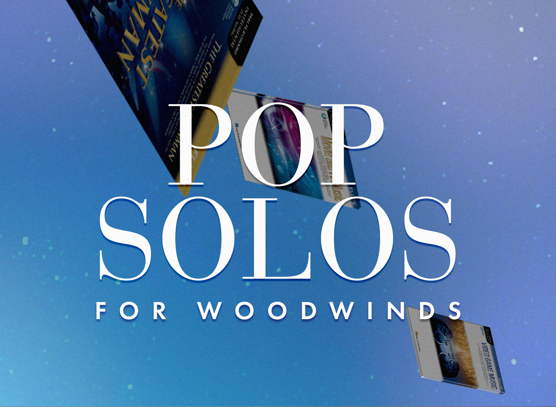 Shop pop solo music for woodwinds.