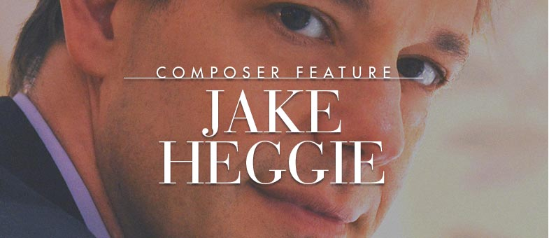 Browse the sheet music of composer Jake Heggie.