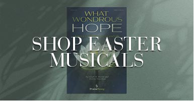 Shop all Easter musicals.