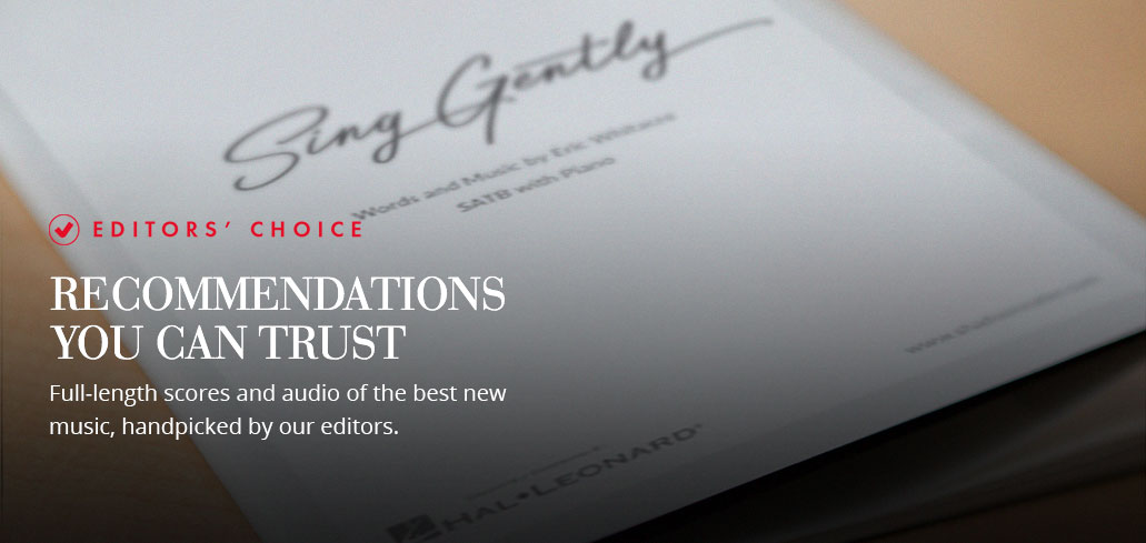 Editors' Choice: Recommendations you can trust with full-length scores & audio of the best new music.
