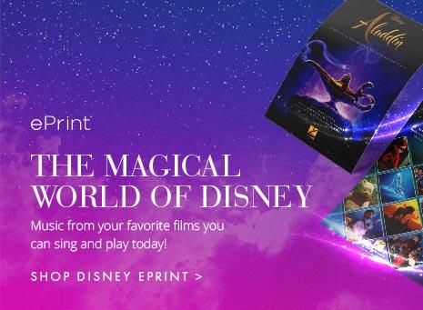 ePrint printable digital Disney sheet music.