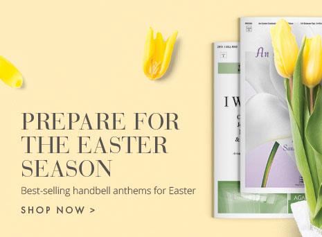 Best-selling handbell anthems for Easter.