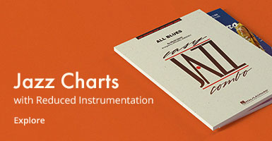 Jazz charts with reduced instrumentation.