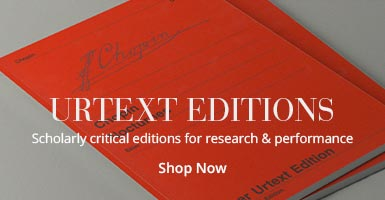 Urtext Editions: Scholarly critical editions for research & performance.
