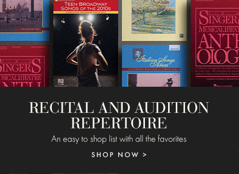 Vocal recital and audition repertoire.