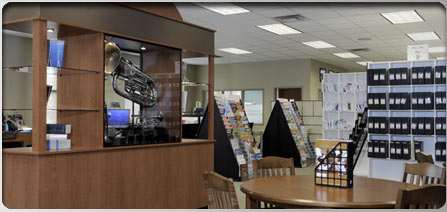 Work Area for Customers in Store