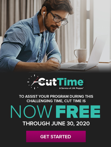 Cut Time now free through June 30, 2020