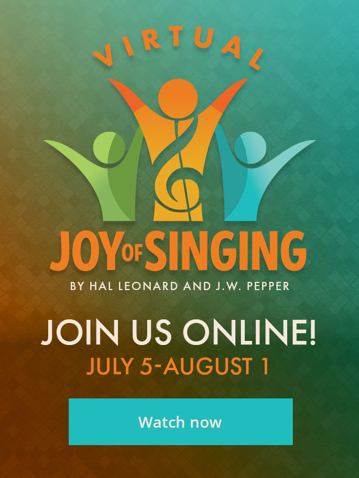 Join us for Virtual Joy of Singing.
