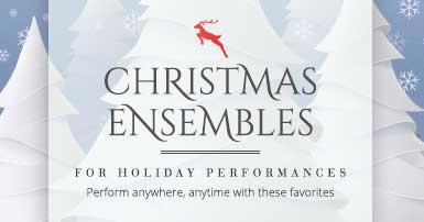 Shop Christmas brass ensembles for holiday performances. Perform anywhere, anytime with these favorites!