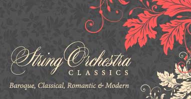 Shop string orchestra classics. Baroque, Classical, Romantic, and Modern.