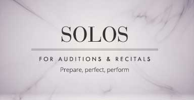 Shop percussion solos for auditions and recitals. Prepare, perfect, perform!