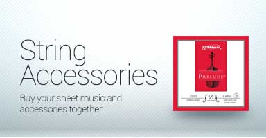 Shop string accessories. Buy your sheet music and accessories together