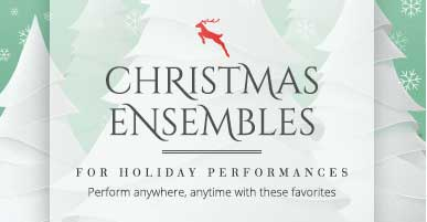 Shop Christmas woodwind ensembles for holiday performances. Perform anywhere, anytime with these favorites!