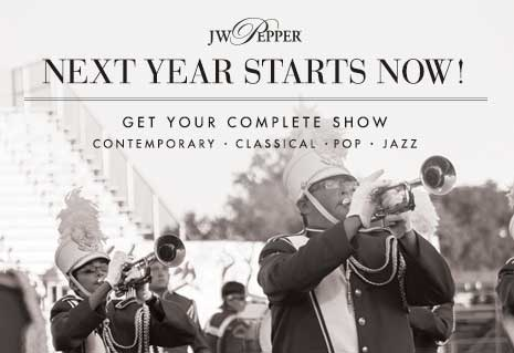Next year starts now! Shop complete marching shows. Contemporary, classical, pop, and jazz.