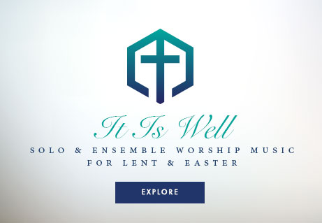 It is well! Shop sacred solo and ensemble string sheet music for Lent and Easter.