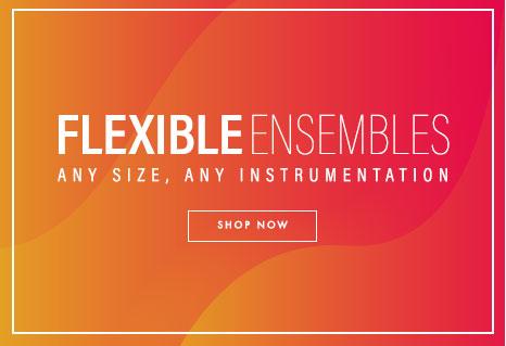 Shop woodwind ensemble sheet music with flexible instrumentation. Any size. Any instrumentation.
