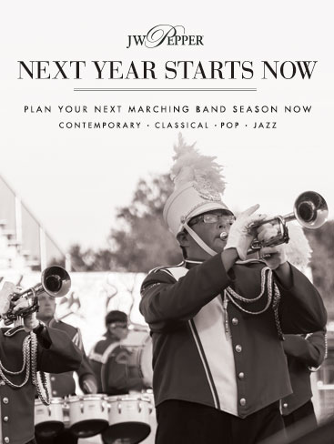 Next year starts now! Plan your next marching band session now with complete shows.