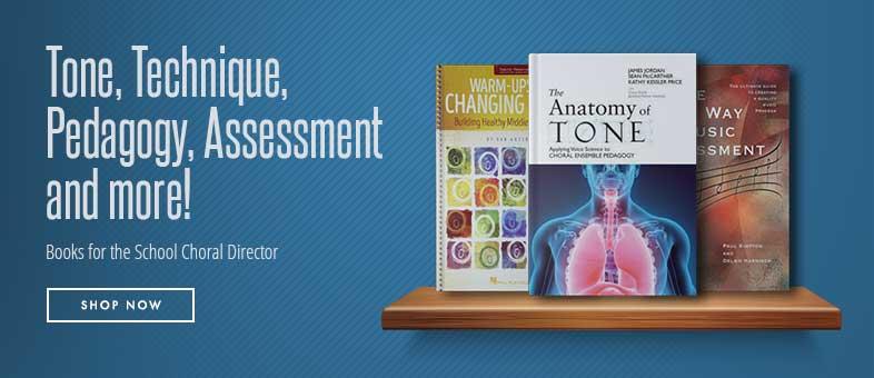 Tone, technique, pedagogy, assessment, and more! Shop school choir director resources.