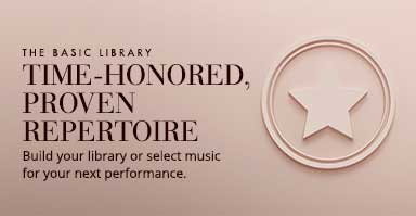 Time-honored proven band repertoire. Build your library or select band music for your next performance.