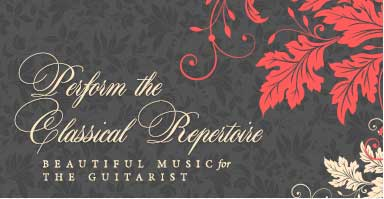 Shop classical guitar music repertoire. Beautiful music for the guitarist.