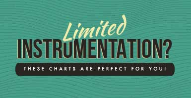 Limited instrumentation? These jazz charts are perfect for small jazz groups.