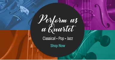 Perform as a quartet. Shop classical, pop, and jazz string quartet sheet music.