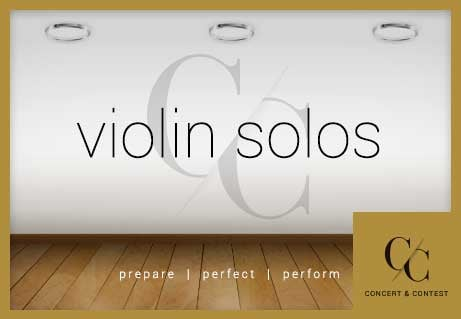 Shop violin solo music perfect for auditions and recitals!