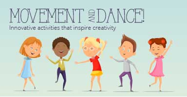 Shop movement and dance resources. Innovative activities that inspire creativity!