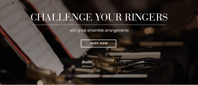 Challenge your ringers with great handbell ensemble arrangements.