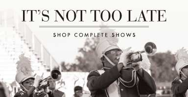Shop marching band complete shows.
