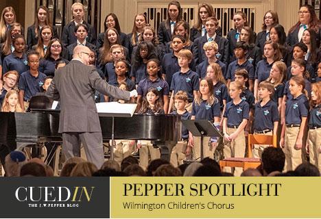 The J.W. Pepper blog.  Pepper spotlight on the Wilmington Childrens Choir