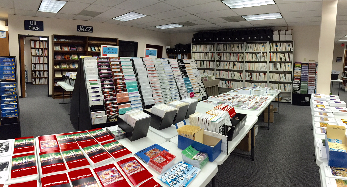 Large Music Selection in Store