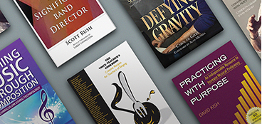 covers of books recommended for music teachers.
