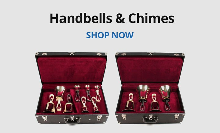 Shop handbells and chimes.