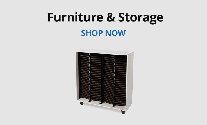 Shop furniture and storage.
